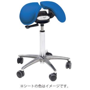 【送料無料】Salliチェアー[Salli Sway] ショートタイプ (ブルー) ※開封後の返品交換不可 腰痛 椅子 姿勢 サリーチェアー