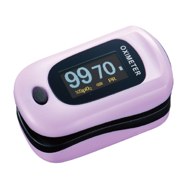 【送料無料】酸素飽和度計測器 パルスフロー ベリーピンク 1個