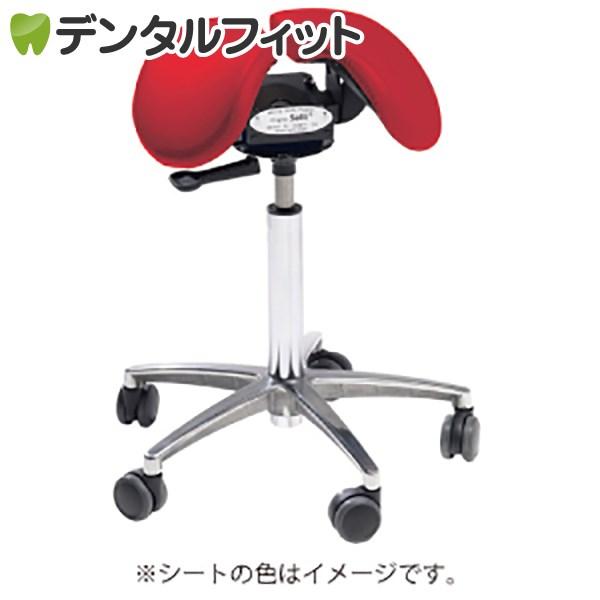 【送料無料】Salliチェアー[Salli Sway] ミドルタイプ (レッド) ※開封後の返品交換不可 腰痛 椅子 姿勢 サリーチェアー