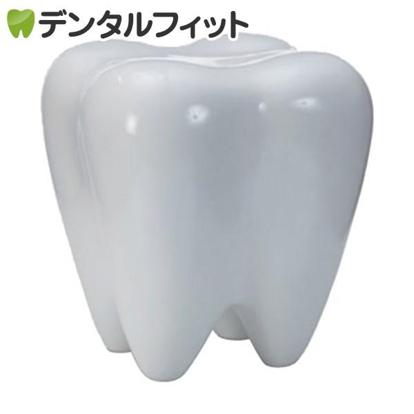 【送料無料】3Dトゥースチェア(ホワイト)
