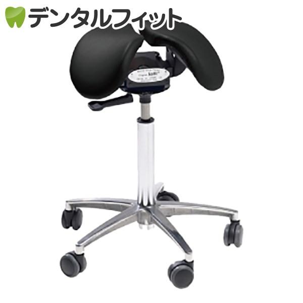 【送料無料】Salliチェアー[Salli Sway] ミドルタイプ (ブラック) ※開封後の返品交換不可 腰痛 椅子 姿勢 サリーチェアー