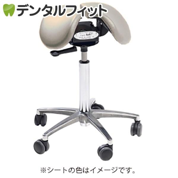【送料無料】Salliチェアー[Salli Sway] 本革 ミドルタイプ (ベージュ) ※開封後の返品交換不可 腰痛 椅子 姿勢 サリーチェアー