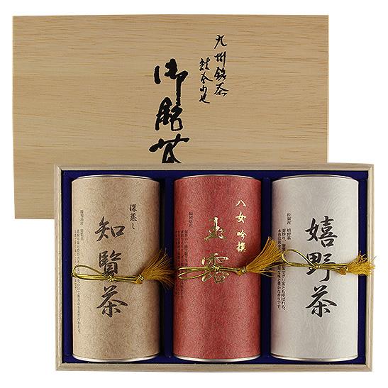 〈嬉野茶園〉九州銘茶詰合せ-GUT-100[N]glm_Y170612100007_0_0_0