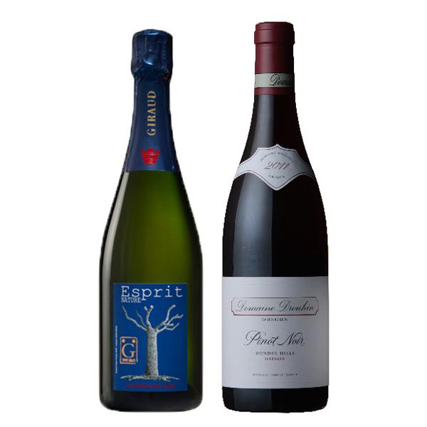 シャンパン&オレゴン ワインセット-[G]glm_Y170907100061