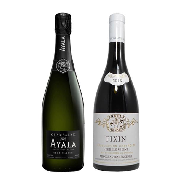 シャンパン&ブルゴーニュ ワインセット-[G]glm_Y170907100062