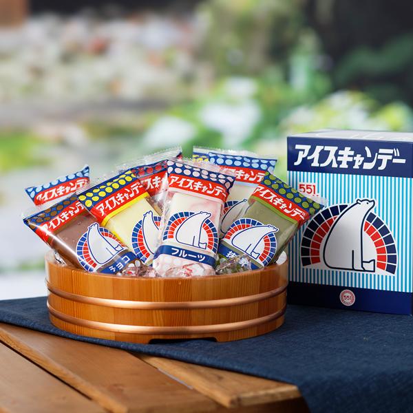 551蓬莱 アイスキャンデー