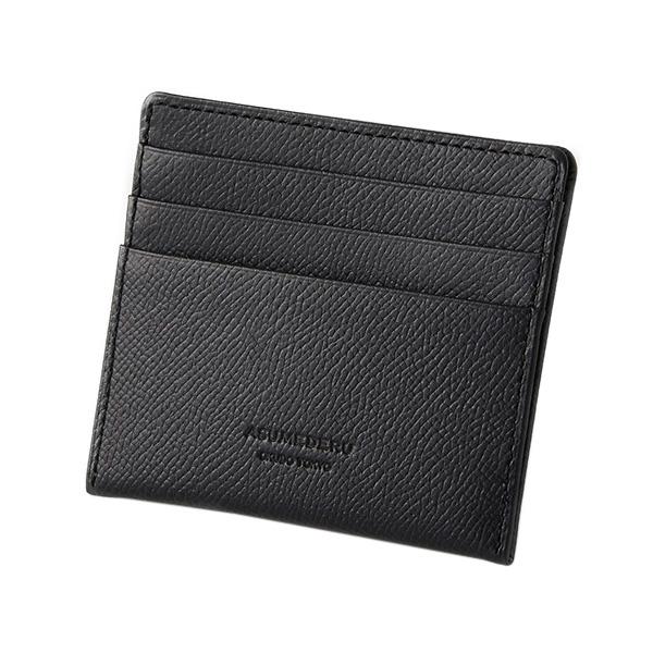 〈アスメデル〉ポケット財布-ブラック-14E-3801[ル]mens_Y181113100007001