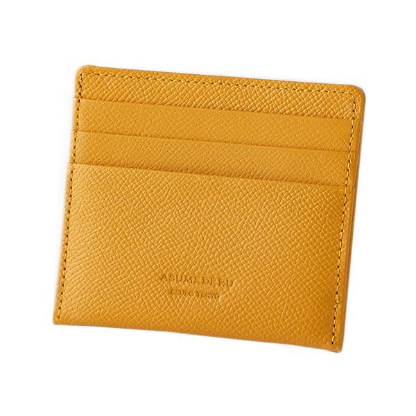〈アスメデル〉ポケット財布-イエロー-14E-3801[ル]mens_Y181113100007006