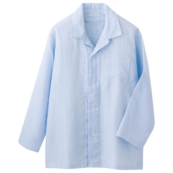 マシュマロガーゼ メンズパジャマ XLサイズ-RP15681L[ツ]_K200301100457