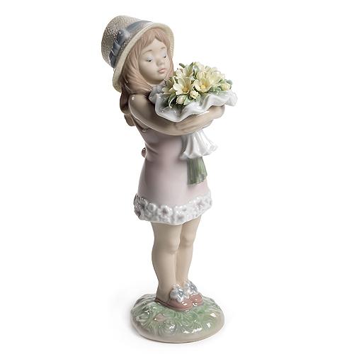 〈リヤドロ〉あなたに花をA08313[モ]kuin_I020000029801_0_0_0