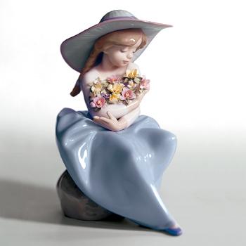 〈リヤドロ〉花の香りにつつまれて05862[モ]kuin_I010000001356_0_0_0