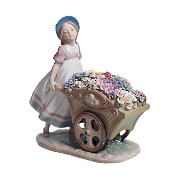 〈リヤドロ〉可愛いお花屋さん01006521[モ]kuin_Y150617100013_0_0_0