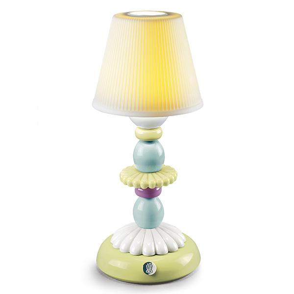 〈リヤドロ〉LOTUS FIREFLY LAMP (緑&青)-A23761[モ]kuin_Y181016100003