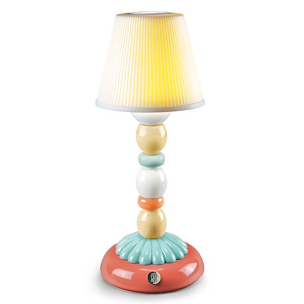 〈リヤドロ〉PALM FIREFLY LAMP (PALE BLUE)-A23764[モ]kuin_Y181016100007