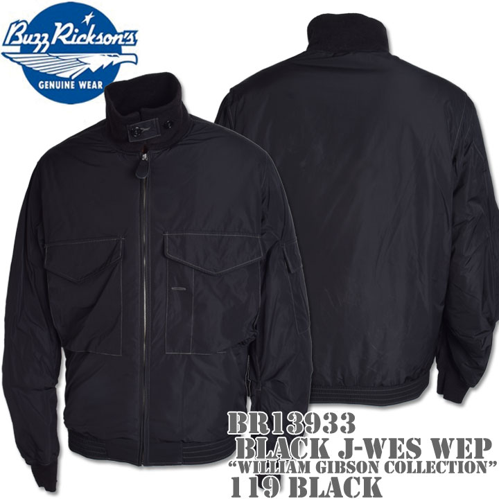 BUZZ RICKSON'S バズリクソンズ BLACK J-WES WEP WILLIAM GIBSON COLLECTION BR13933