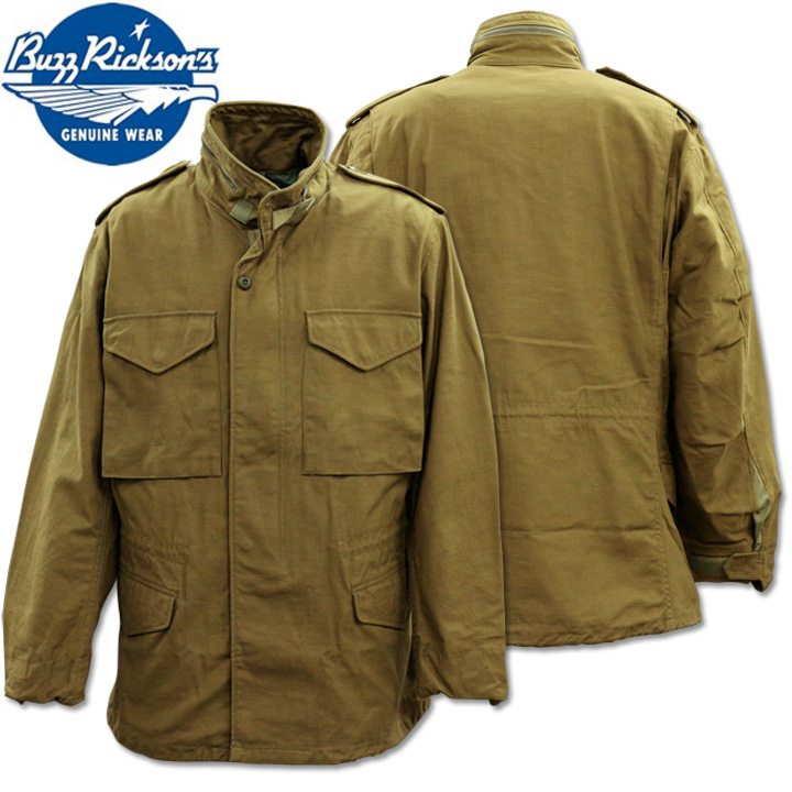 BUZZ RICKSON'S(バズリクソンズ)Type M-65 FIELD COAT『BUZZ RICKSON MFG. CO. INC.』BR11702 Olive Drab