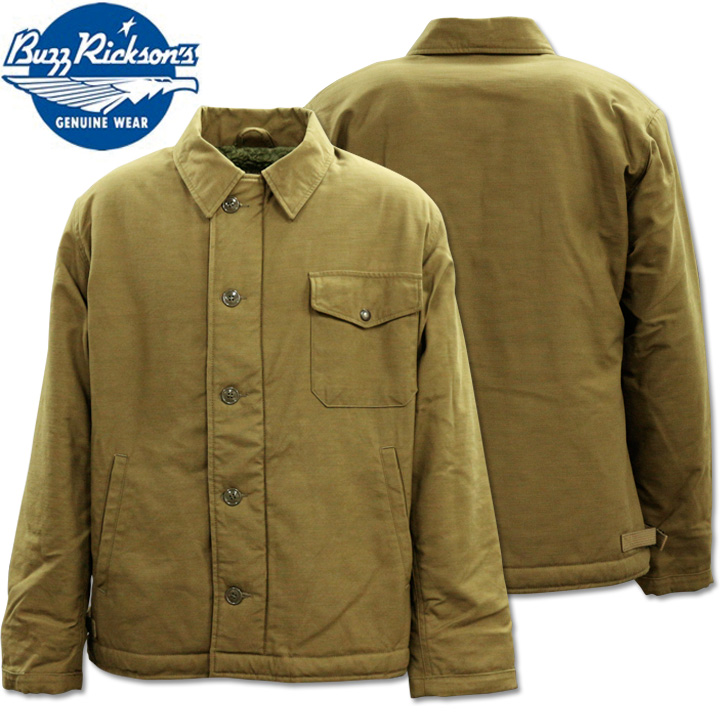 BUZZ RICKSON'S(バズリクソンズ)A-2 DECK JACKET『U.S.NAVY』BR12291