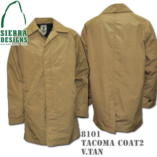 SIERRA DESIGNS シエラデザインズ TACOMA COAT II タコマコート2 8101 V.tan