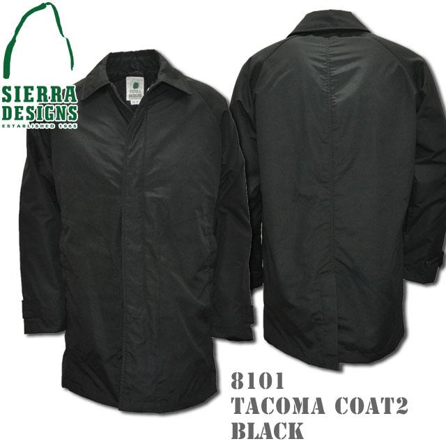 SIERRA DESIGNS シエラデザインズ TACOMA COAT 2 タコマコート 8101 Black