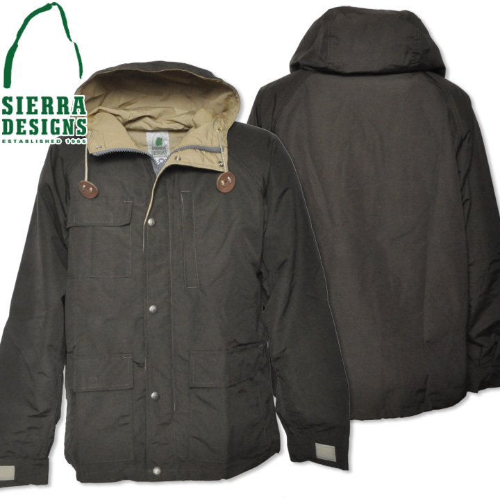 SIERRA DESIGNS シエラデザインズ SHORT PARKA ショートパーカー 8001 Olive Drab/V.tan