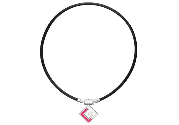 Colantotte(コラントッテ) TAO ネックレス AURA ブラック レッドラメ Mサイズ(43cm)