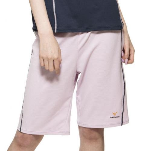 VENEX ( ベネクス ) リカバリーウェア リラックス ハーフパンツ レディース ライトパープル M インナー Tシャツ パジャマ