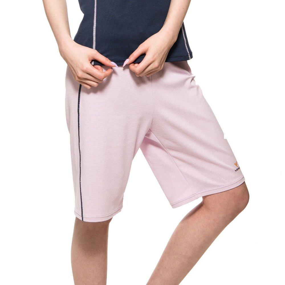 VENEX ( ベネクス ) リカバリーウェア リラックス ハーフパンツ レディース ライトパープル L インナー Tシャツ パジャマ