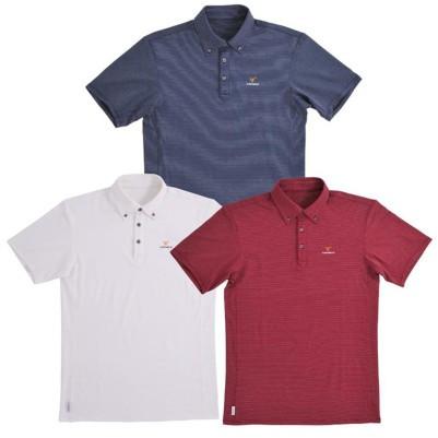 VENEX ( ベネクス ) リカバリーウェア リフレッシュポロシャツ メンズ ワインレッド XL スポーツウェア 半袖
