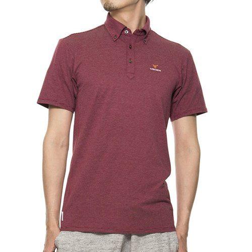 VENEX ( ベネクス ) リカバリーウェア リフレッシュポロシャツ メンズ ワインレッド XXL スポーツウェア 半袖