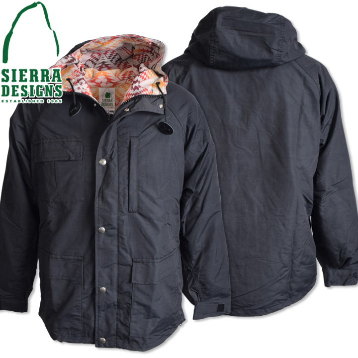 SIERRA DESIGNS シエラデザインズ PENDLETON T&E SHORT PARKA ペンドルトンT&Eショートパーカー 7262 Black