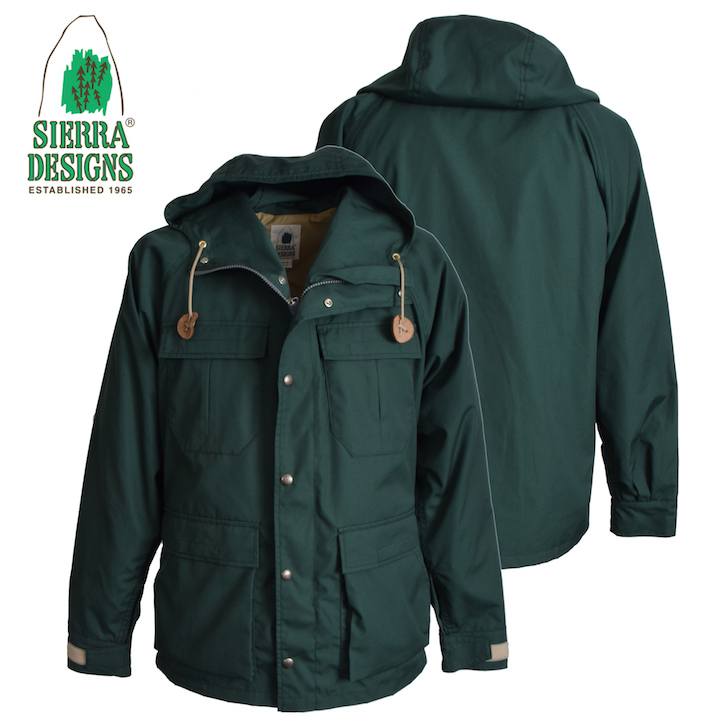 SIERRA DESIGNS シエラデザインズ MOUNTAIN TRAIL PARKA マウンテントレイルパーカー 6501 Green/Green