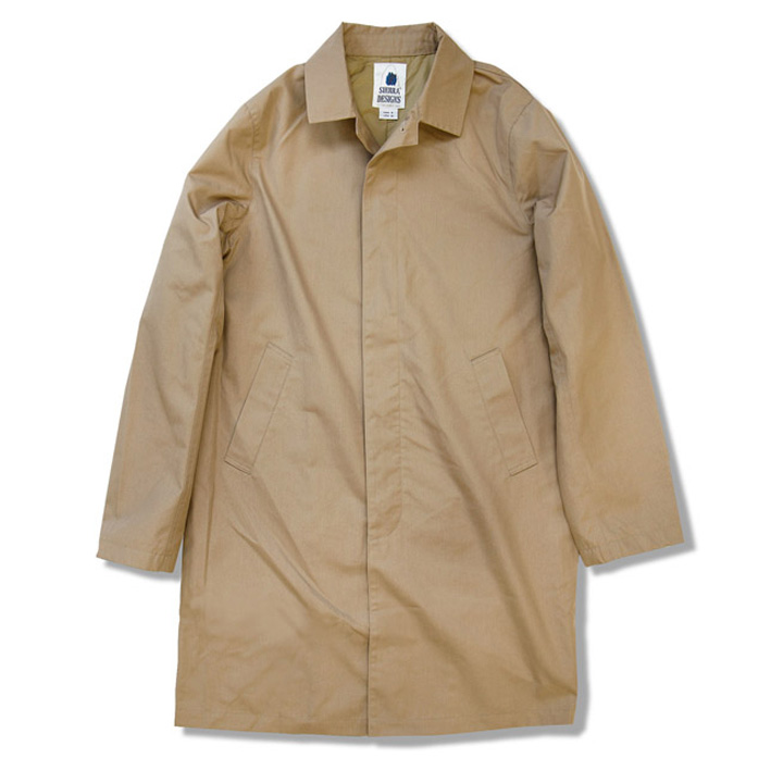 SIERRA DESIGNS シエラデザインズ 65/35 STAND FALL COLLAR COAT 6505 Tan