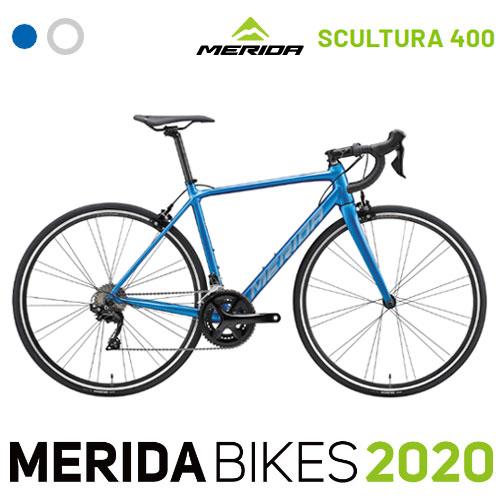 【2020年モデル】MERIDA メリダ SCULTURA 400 スカルチュラ スクルトゥーラ 400 2×11変速 scultura アルミ ロードバイク Shimano コンポーネントを採用 【自転車/スポーツ】【防犯登録別売り】