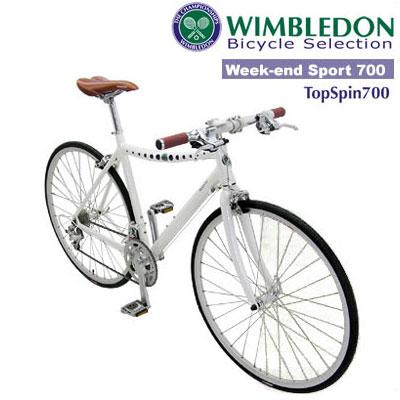 【ウィンブルドンサイクル/ウィークエンドスポーツ!】WIMBLEDON wimbledon topspin700 トップスピン700 700C×26c 18段変速【ロードバイク/スポーツ】【おしゃれ街乗り自転車】