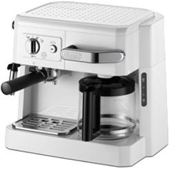 BCO410J-W コンビコーヒーメーカー デロンギ DeLonghi ホワイト BCO410JW 【KK9N0D18P】【送料無料(北海道1000円沖縄2000円別途加算)】