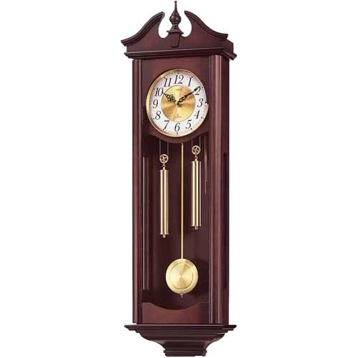 【お取り寄せ】【時間指定不可】4MJ742RH06 掛時計 リズム時計 キャロラインR 壁掛け時計 壁掛時計 壁かけ時計【送料無料(北海道1000円沖縄6000円別途加算)】