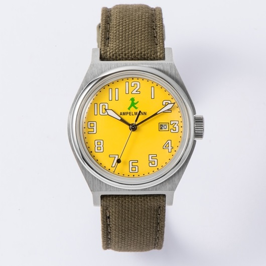 【お取り寄せ】ASC-4979-16 腕時計 AMPELMANN アンペルマン クォーツ ラウンド ASC497916 イエロー【送料無料(北海道1000円沖縄2000円別途加算)】