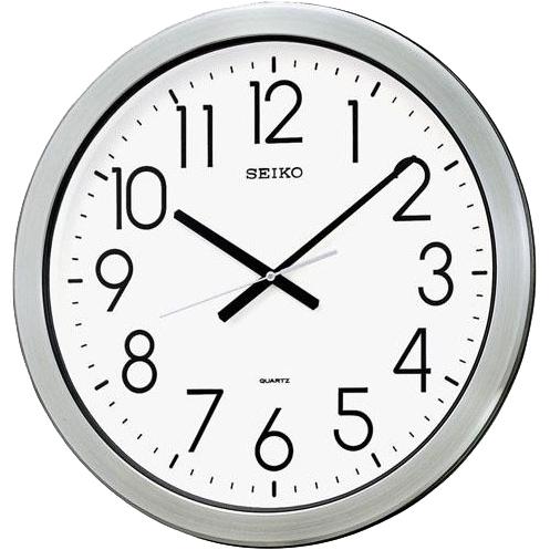 【北海道・沖縄・離島配送不可】SEIKO セイコー 大型壁掛け時計 オフィスタイプ 防湿・防塵型 KH407S セイコー時計/壁掛時計/壁かけ時計