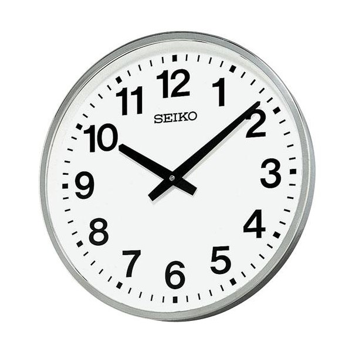 SEIKO セイコー 大型壁掛け時計 オフィスタイプ 屋外・防雨型 KH411S セイコー時計/壁掛時計/壁かけ時計【送料無料(北海道1000円沖縄2000円別途加算)】