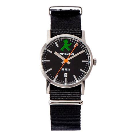 お取り寄せ【北海道・沖縄・離島配送不可】ARI-4976-05 腕時計 AMPELMANN アンペルマン クォーツ ラウンド ブラック ARI497605