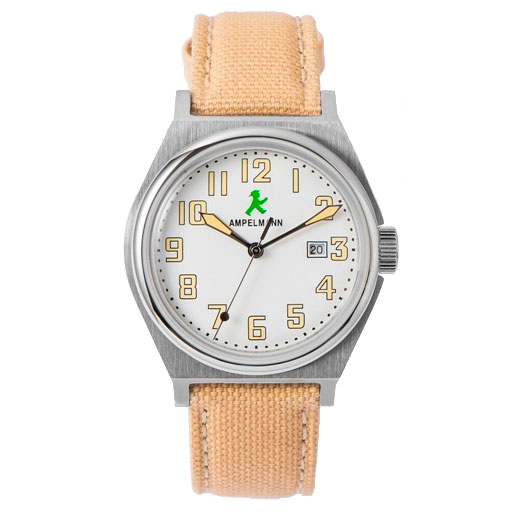 お取り寄せ【北海道・沖縄・離島配送不可】ASC-4979-03 腕時計 AMPELMANN アンペルマン クォーツ ラウンド ホワイト ASC497903