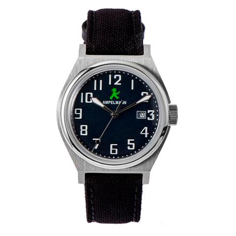 【お取り寄せ】ASC-4979-04 腕時計 AMPELMANN アンペルマン クォーツ ラウンド ネイビー ASC497904【送料無料(北海道1000円沖縄2000円別途加算)】