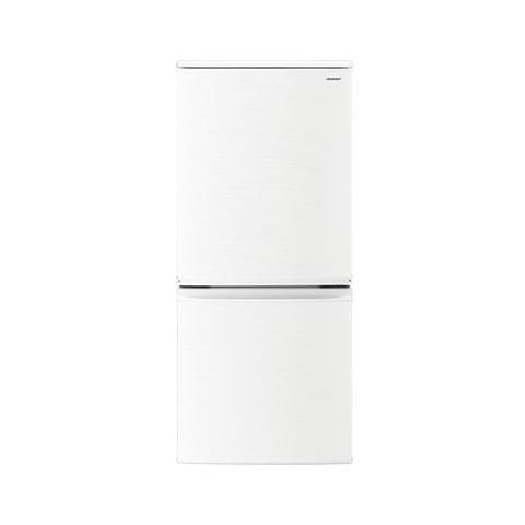【時間指定不可】【離島配送不可】SJ-D14D-W 冷蔵庫 SHARP シャープ つけかえどっちもドア 137L SJD14DW ホワイト系 【送料無料(北海道1000円沖縄12000円別途加算)】