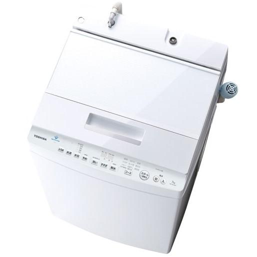 【時間指定不可】【離島配送不可】AW-8D7-W 全自動洗濯機 TOSHIBA 東芝 ZABOON 洗濯・脱水容量8.0kg AW8D7W グランホワイト【KK9N0D18P】 【送料無料(北海道1000円沖縄12000円別途加算)】