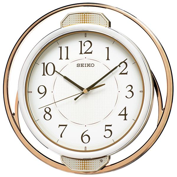 お取り寄せ PH207G 電波掛時計 SEIKO セイコー ゆっくり振り子 壁掛け時計 電波時計 電波掛け時計 電波掛時計 壁掛時計 かけ時計 壁掛け電波時計 電波壁掛け