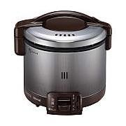 【北海道・沖縄・離島配送不可】RR-030FS-DB-LP ガス炊飯器 プロパンガス用 Rinnai リンナイ こがまる 0.5~3合 炊飯専用 RR030FSDBLP ダークブラウン