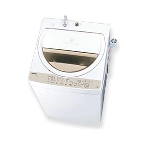 【時間指定不可】【離島配送不可】AW-6G8-W 全自動洗濯機 TOSHIBA 東芝 洗濯・脱水6.0kg AW6G8W グランホワイト
