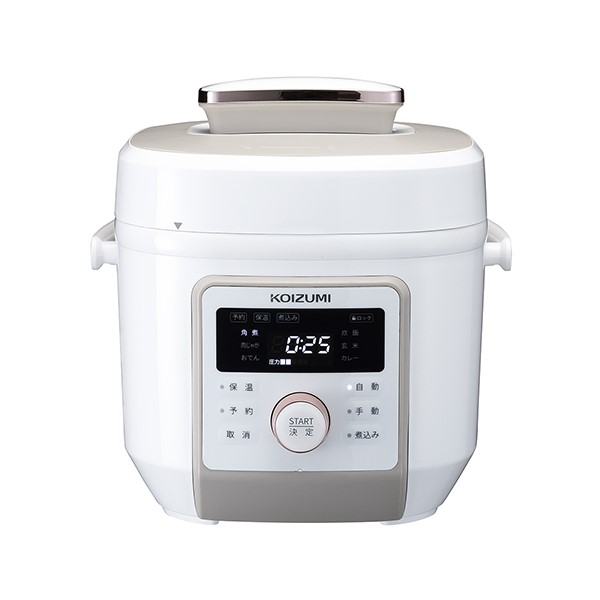 【北海道・沖縄・離島配送不可】KSC-4501-W マイコン電気圧力鍋 コイズミ KSC4501W ホワイト