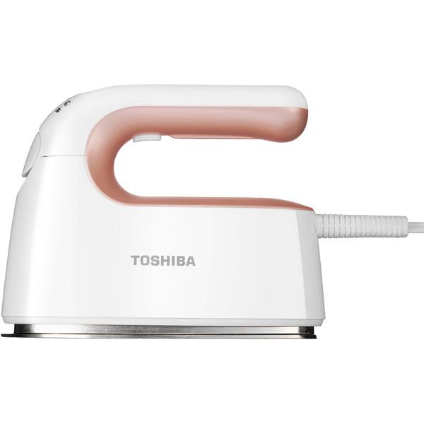 TAS-V5-RW コード付き衣類スチーマー TOSHIBA 東芝 La・Coo-S(ラクーエス) TASV5RW ローズゴールドホワイト