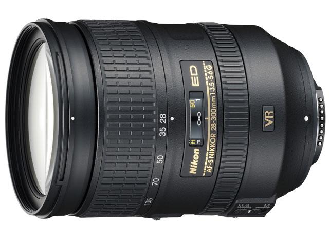 Nikon / ニコン デジタル一眼レフカメラ専用レンズ AF-S NIKKOR 28-300mm f/3.5-5.6G ED VR 【レンズ】【送料無料】